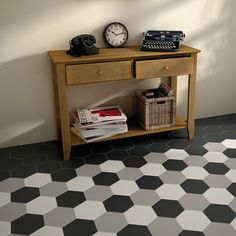 Ceramic floor tiles hexatile by equipe ceramicas material tiles mosaics pinterest - Grijze wand taupe ...