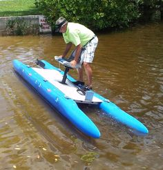 Modular watercraft that changes to sail, row or paddle & fits in a small car. Soon to have a new pedal drive.