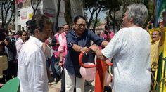 Vecinos de Peralvillo recuperan espacio para foro al aire libre con Programa de Mejoramiento Barrial