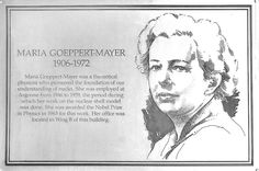 A plaque outside Argonne's Physics Building honors Maria Goeppert Mayer, winner of the 1963 Nobel Prize in Physics for her work to develop the shell model of the atomic nucleus. She kept her office in Argonne's Physics Building for the 15 years she worked at the laboratory.
