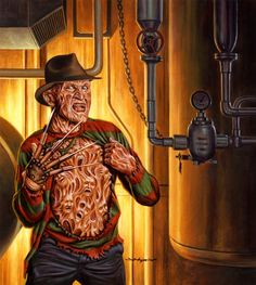 Jason Edmiston - NECA Toys Packagings Prints Freddy