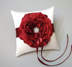ring bearer pillow totes my colors!