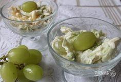 Салат с виноградом и сыром
