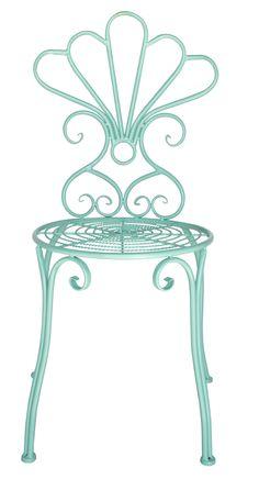 Urban Home Vintage Garden Seat in Teal - $69