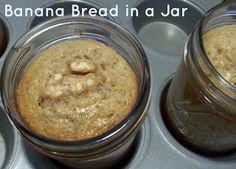 Banana Bread in a Jar, Ship a bit of Home Overseas