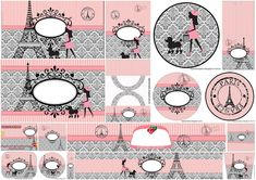 Beautiful París: Free Printable Candy Bar Labels.
