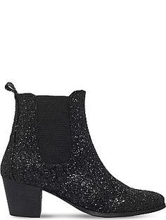 KG KURT GEIGER Razzle glitter Chelsea boots