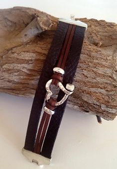 woman leather Bracelet, heart beaded Bracelet, cuff, love, girlfriend gift, Bracelet, Gypsy, magnetic clasp, myDemimore, woman, gift How do I know what size I need? Just a flexible measuring tape wrap around your wrist and measure. The tape measure should rest on the wrist but not too