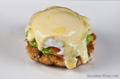 Salmon Eggs Benedict - OH BOY!  This combined my favourite of eggs benedict with salmon & hollandaise sauce with MORE salmon... but no grains.  PERFECT.  LOVED it!