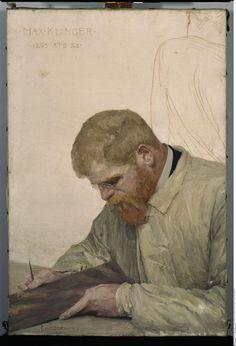 desimonewayland:  Portrait of Max Klinger - 1895, by Curt Stoeving (1863-1939) Leipzig, Museum der bildenden Künste
