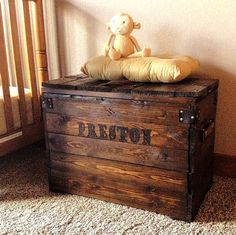 Child's Wood Chest