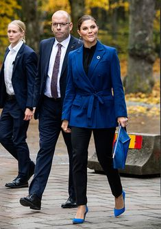 Royal Style Watch: The week's best outfits from Duchess Kate, Queen Maxima, Queen Letizia & Princess Victoria Of Sweden, Crown Princess Victoria, Queen Maxima, Queen Letizia, Royal Fashion, Star Fashion, Lady Amelia Windsor, Winter Outfits, Cool Outfits