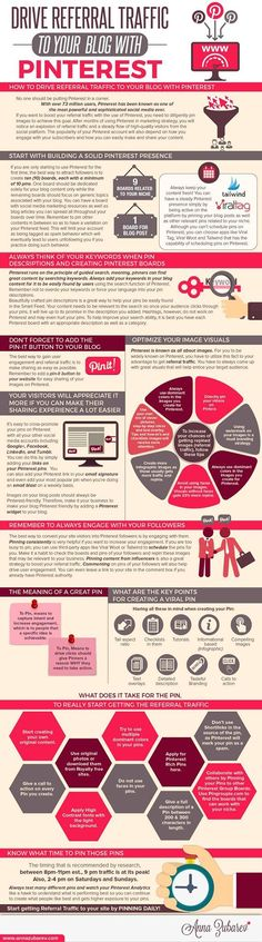 No one should be putting Pinterest in a corner. With over 73 million users, Pinterest has been known as one of the most powerful and sophisticated social media ever. If you want to boost your referral traffic with the use of Pinterest, you need to diligently pin images to achieve this goal. After months of using Pinterest in my marketing strategy, I have noticed an explosion of referral traffic and a steady flow of high-quality visitors from the social platform. Via @annazubarev