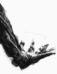 Edgar Nabla Far Away, Portrait, Illusions, Digital Art, Nature, Digital Photography, Contemporary, Artist, Naturaleza