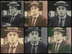 Buster high in Hard Luck by Buster Keaton's Eyes/FB