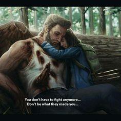 Aw, I loved this ending - Marvel Comics Xman Marvel, Marvel Comics, Heros Comics, Marvel Heroes, Thor Marvel, Hugh Wolverine, Wolverine Origins, Wolverine Art, Wolverine Poster