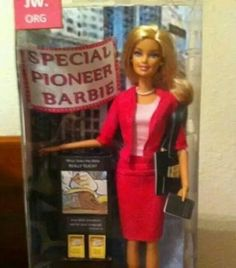 Customize a Special Pioneer Barbie - what a clever idea. My daughter would love this. Caleb Y Sophia, Jw News, Jw Humor, Pioneer Life, Jw Gifts, Bible Truth, Jehovah's Witnesses, Barbie Dolls, Barbie Clothes