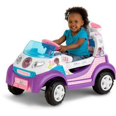 Disney Doc McStuffins Toy Rescue Ambulance 6V Battery Powered Ride-On - Walmart.com