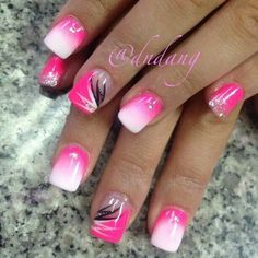 Very very cute! No gems on bottom of nails though.