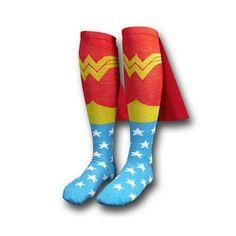 cc39eb6b599 Mens Cotton Socks MARVEL Super Hero Superman Batman Knee High With Cape  Stockings Cosplay Costume Socks Props Gifts