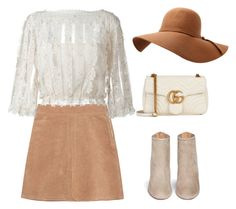 """""""CHIC FALL"""" by marta-isabella ❤ liked on Polyvore featuring See by Chloé, RED Valentino, Gucci and Aquazzura"""