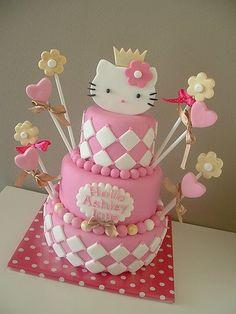 Hello Kitty Cake Themes Birthday Feik