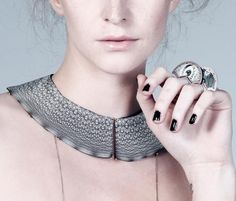 Chiara Scarpitti - collars - new work