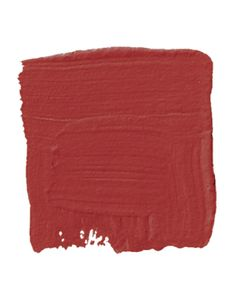 Red Paint - Shades of Red - House Beautiful