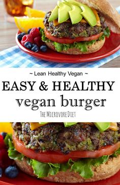 This is a super healthy recipe that feels like you're eating junk food! This vegan patty is super tasty, simple, nutrient-rich and great for vegan health and w