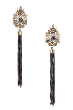 Frames & Fringe Earrings by Olivia Welles on @HauteLook