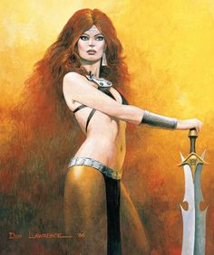 Amber by Don Lawrence