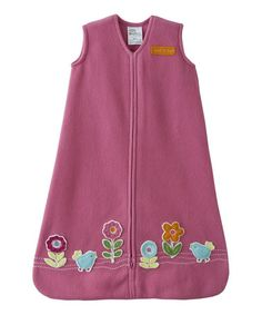 Look at this #zulilyfind! Pink Bird & Flower HALO SleepSack by Halo #zulilyfinds