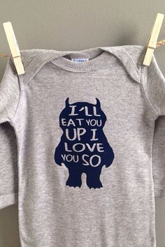 f79008efaed Where the Wild Things Are-Inspired Shirt I ll Eat by WeeLoveToShop
