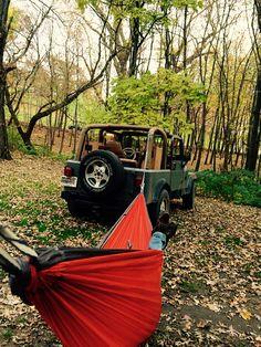 Jeep hammock
