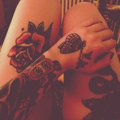 tattoo - hand, arm, thigh ink
