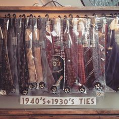 #vintage ties galore today at #yorkdoesvintage #york #britaindoesvintage #bdvoutandabout come and get yours!