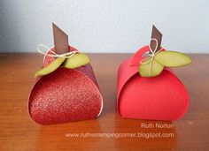 Ruth's Stamping Corner: An Apple A Day