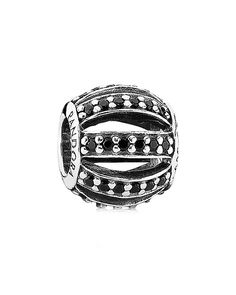 """PANDORA+""""Leading+Lady""""+Silver+Crystal+Charm++is+on+Rue.+Shop+it+now."""