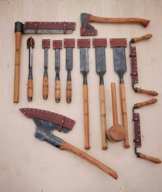 Tools for macbeth to use for surviving or escaping. He can also use it to cut things and fix things.