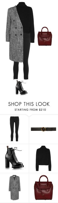"""Untitled #1183"" by amyjonez on Polyvore featuring Frame, STELLA McCARTNEY, Maison Margiela, Yves Saint Laurent and Alexander McQueen"