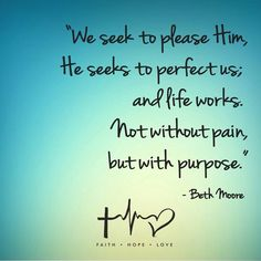 Facebook : Beth Moore quote