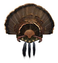 The Beard Collector is an easy, do-it-yourself turkey fan, feet (optional), and beard mounting kit.