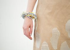 silicone print skirt and bracelet