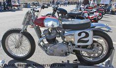 "Dick Mann Flat Tracker | The Dick Mann Triumph"" was actually ridden by 'The Mann' himself. It ..."