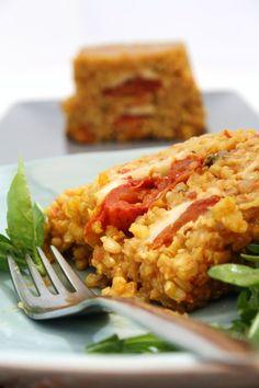 Tomato & Mozzarella Risotto Terrine