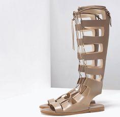 Stivali estivi 2015: tutte le Tendenze attraverso 25 Modelli Stivali estivi 2015 Zara schiava