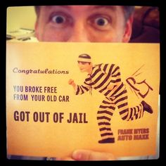 http://www.FrankMyersAuto.com - Break free from your old car during the month of July at Frank Myers Auto Maxx.