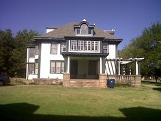 The Walton/Derr house. Historical victorian home in Guthrie, OK. Home of U.S. Marshall Chris Madsen.