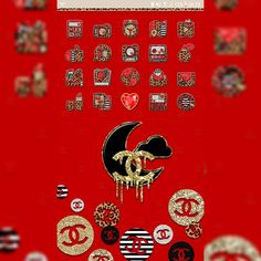 #myscreenoftheday #classy #golauncher #theme and #badge by @brittanysthemes and #chanel #beweather…
