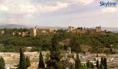 Camara web en tiempo real Alhambra de Granada